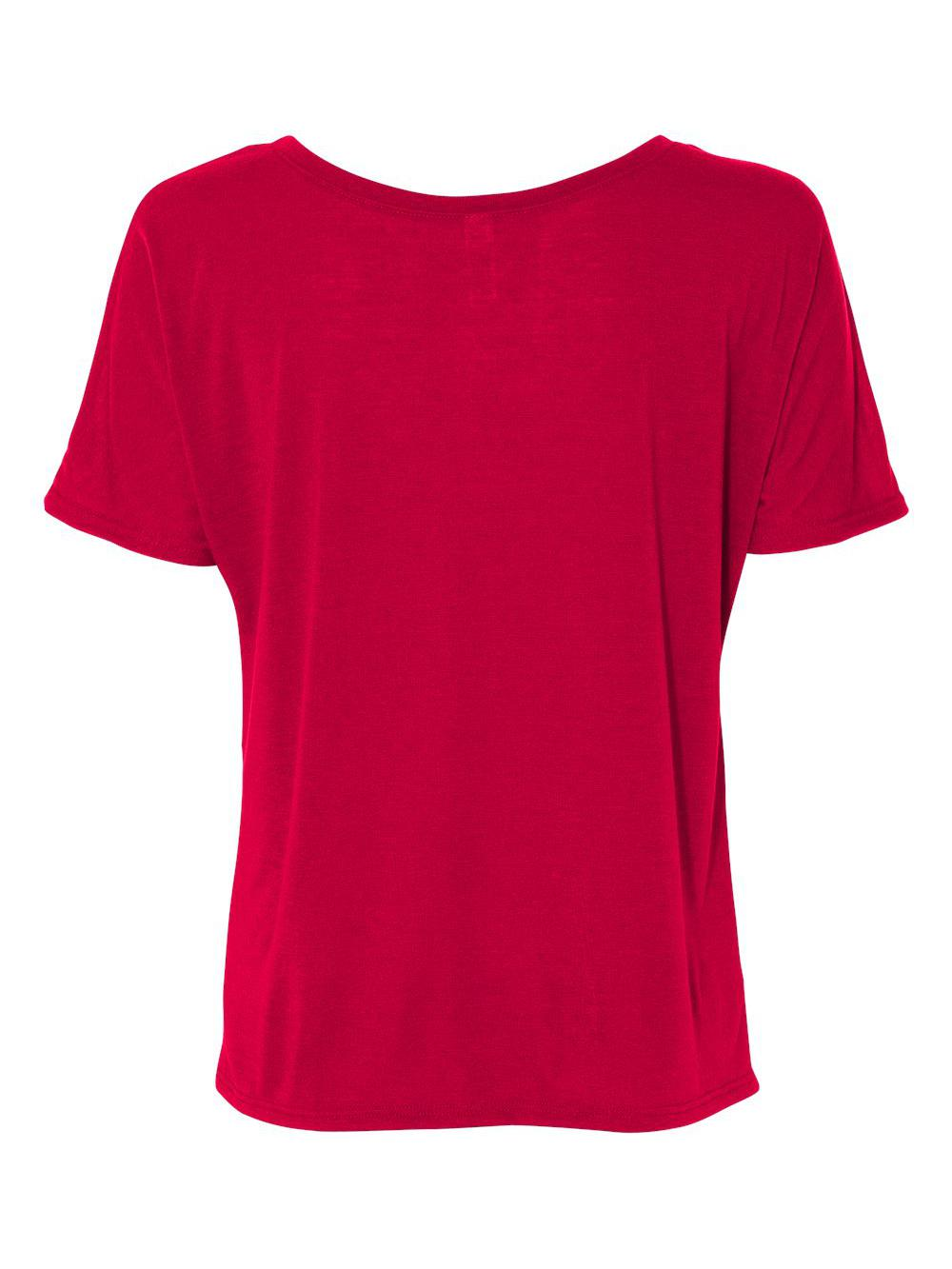 Bella-Canvas-Women-039-s-Slouchy-Tee-8816 thumbnail 49