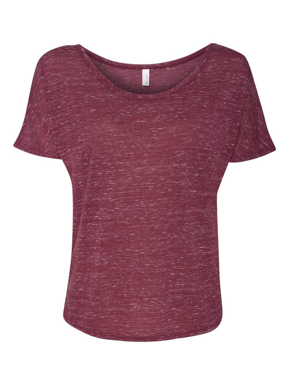 Bella-Canvas-Women-039-s-Slouchy-Tee-8816 thumbnail 36