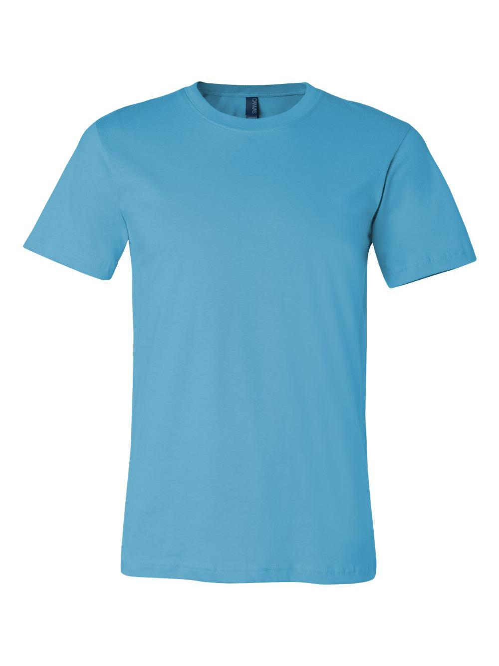 Bella-Canvas-Unisex-Short-Sleeve-Jersey-Tee-3001 thumbnail 141