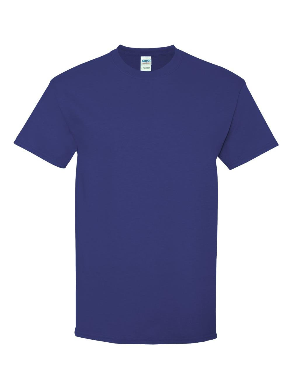 Gildan-Heavy-Cotton-T-Shirt-5000 thumbnail 36