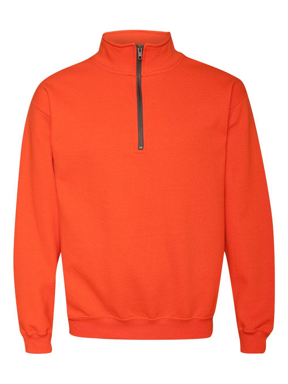 Gildan-Heavy-Blend-Quarter-Zip-Cadet-Collar-Sweatshirt-18800 thumbnail 21