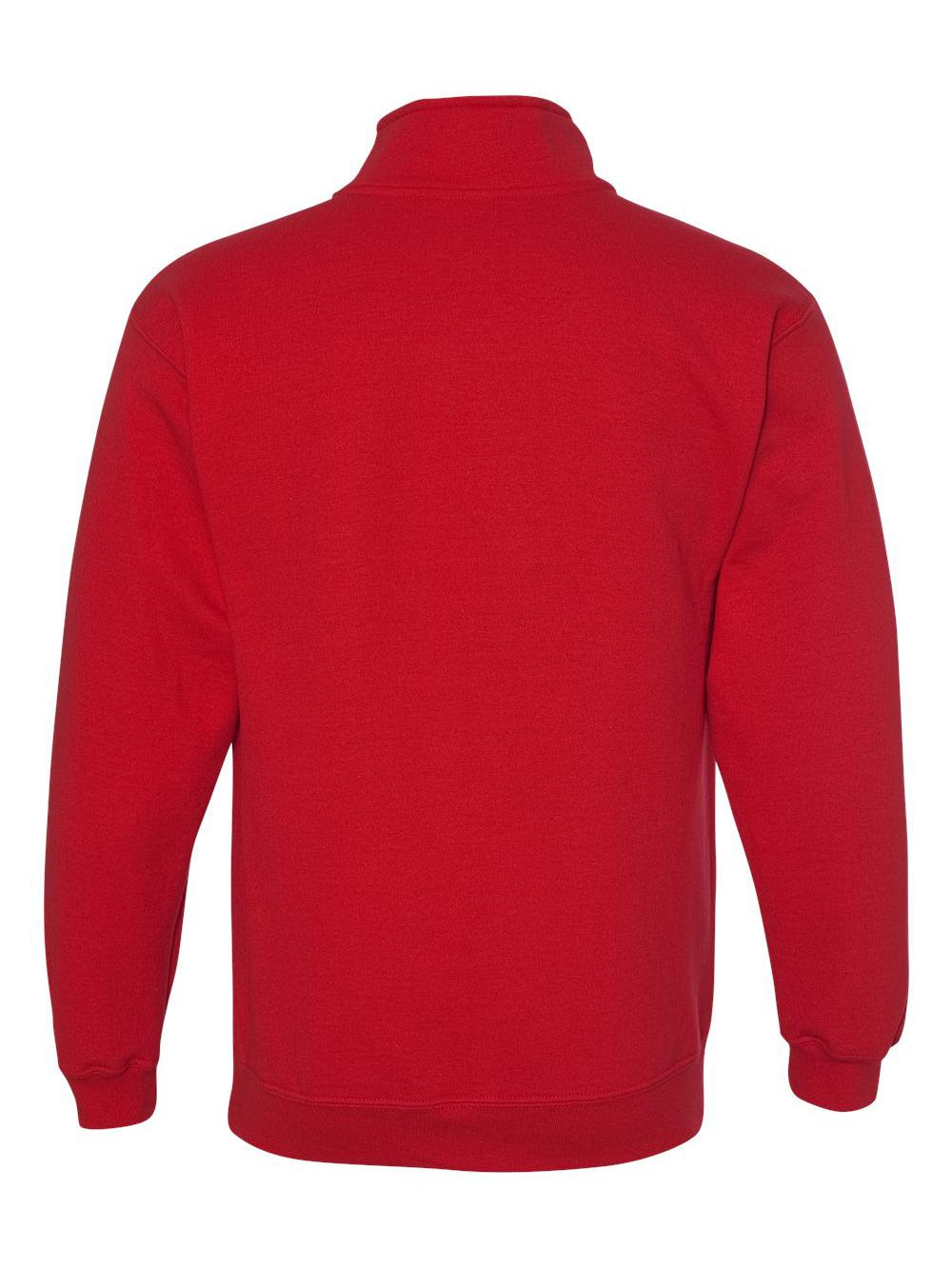 Gildan-Heavy-Blend-Quarter-Zip-Cadet-Collar-Sweatshirt-18800 thumbnail 25