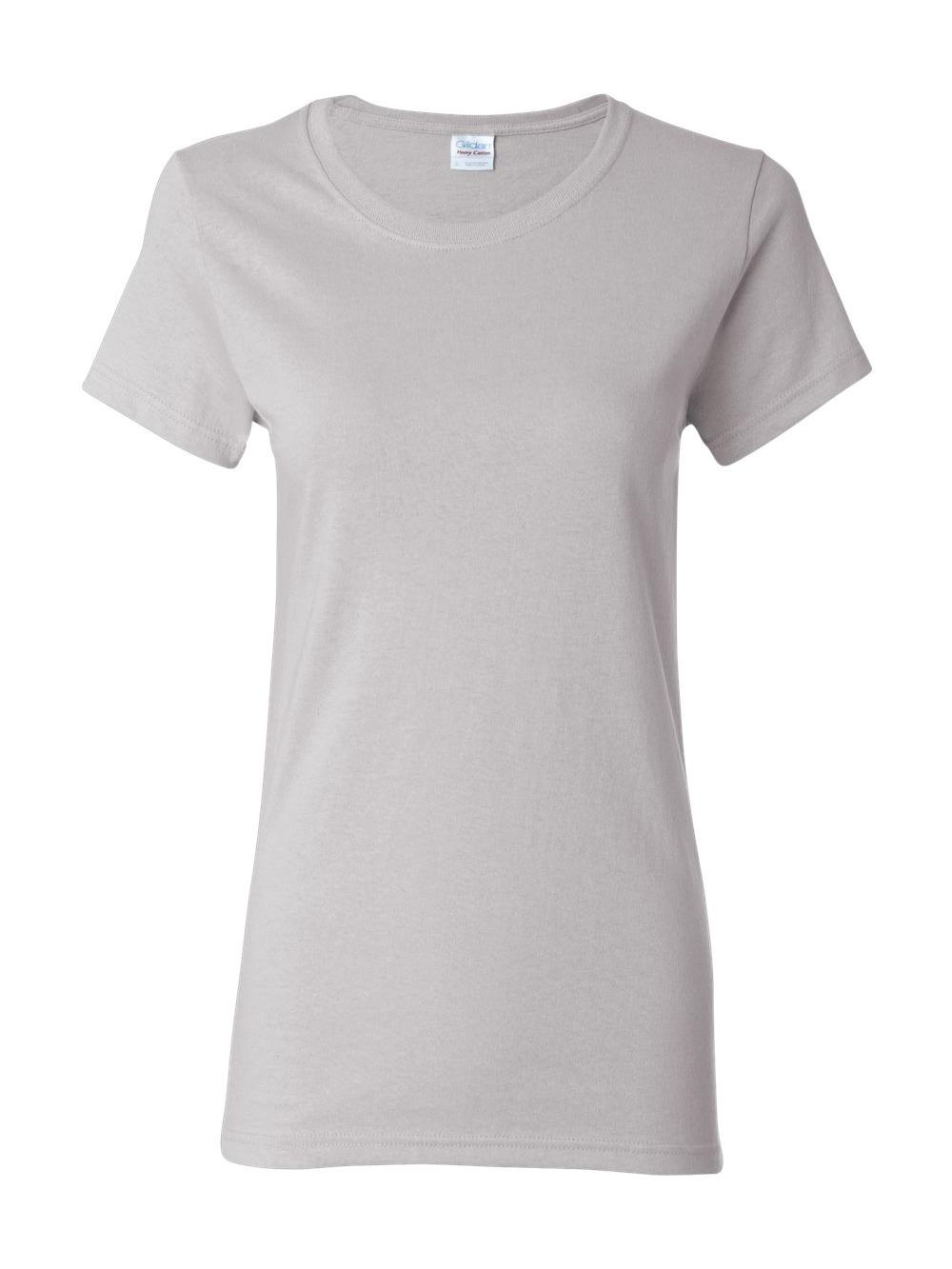 Gildan-Heavy-Cotton-Women-039-s-Short-Sleeve-T-Shirt-5000L thumbnail 63