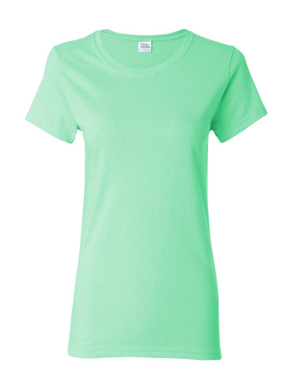 Gildan-Heavy-Cotton-Women-039-s-Short-Sleeve-T-Shirt-5000L thumbnail 81