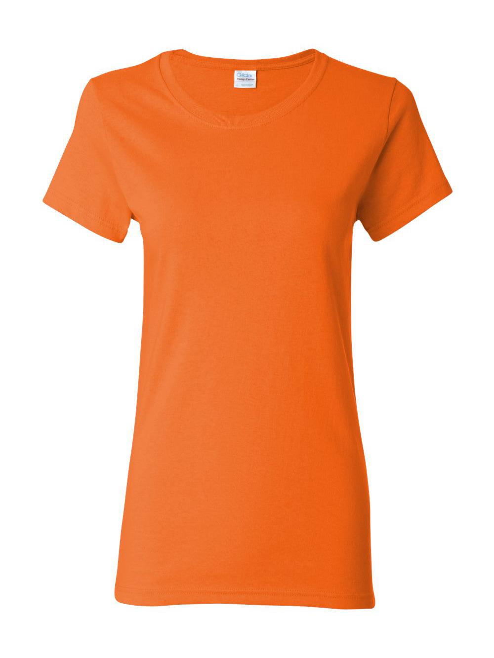 Gildan-Heavy-Cotton-Women-039-s-Short-Sleeve-T-Shirt-5000L thumbnail 96