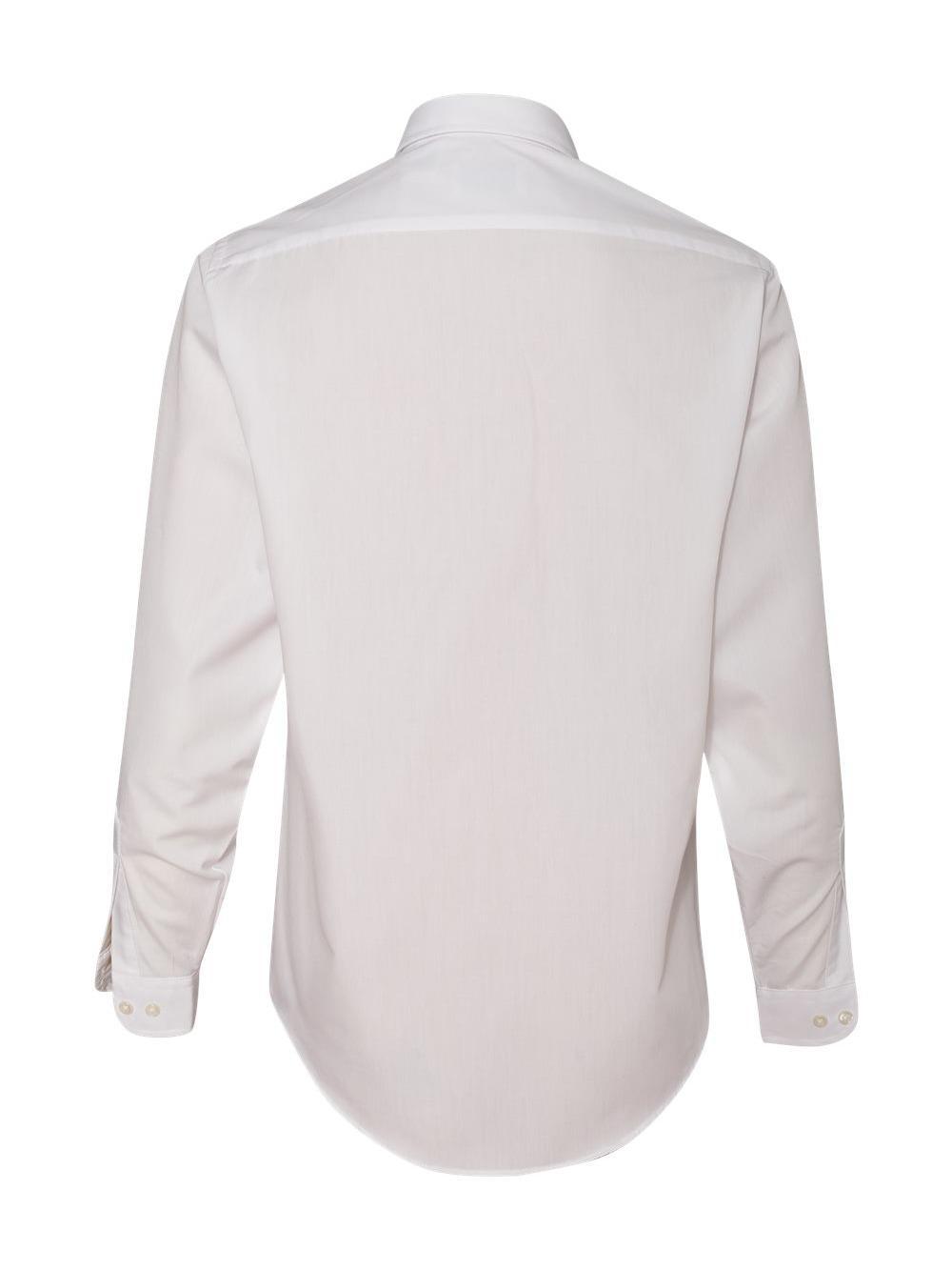 Van-Heusen-Women-039-s-Broadcloth-Long-Sleeve-Shirt-13V0216 thumbnail 7