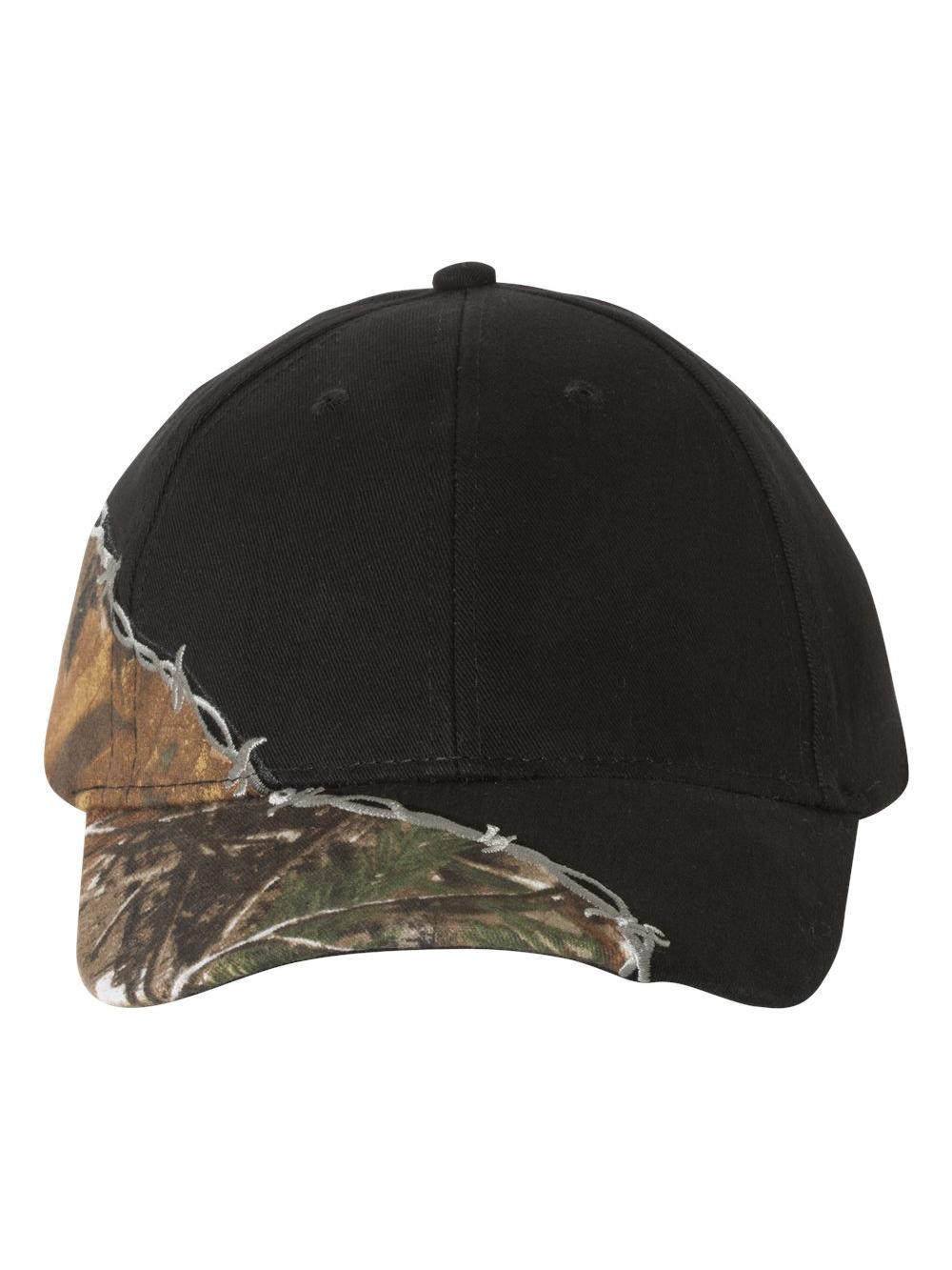 Kati - Licensed Camo Cap with Barbed Wire Embroidery - LC4BW | eBay