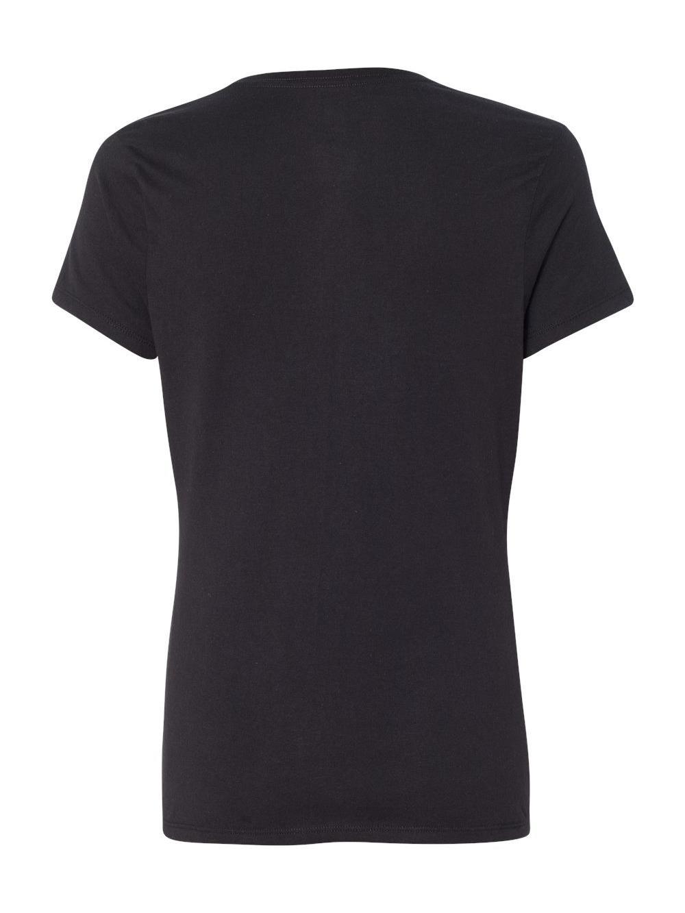 Hanes-X-Temp-Women-039-s-V-Neck-T-Shirt-42V0 thumbnail 4
