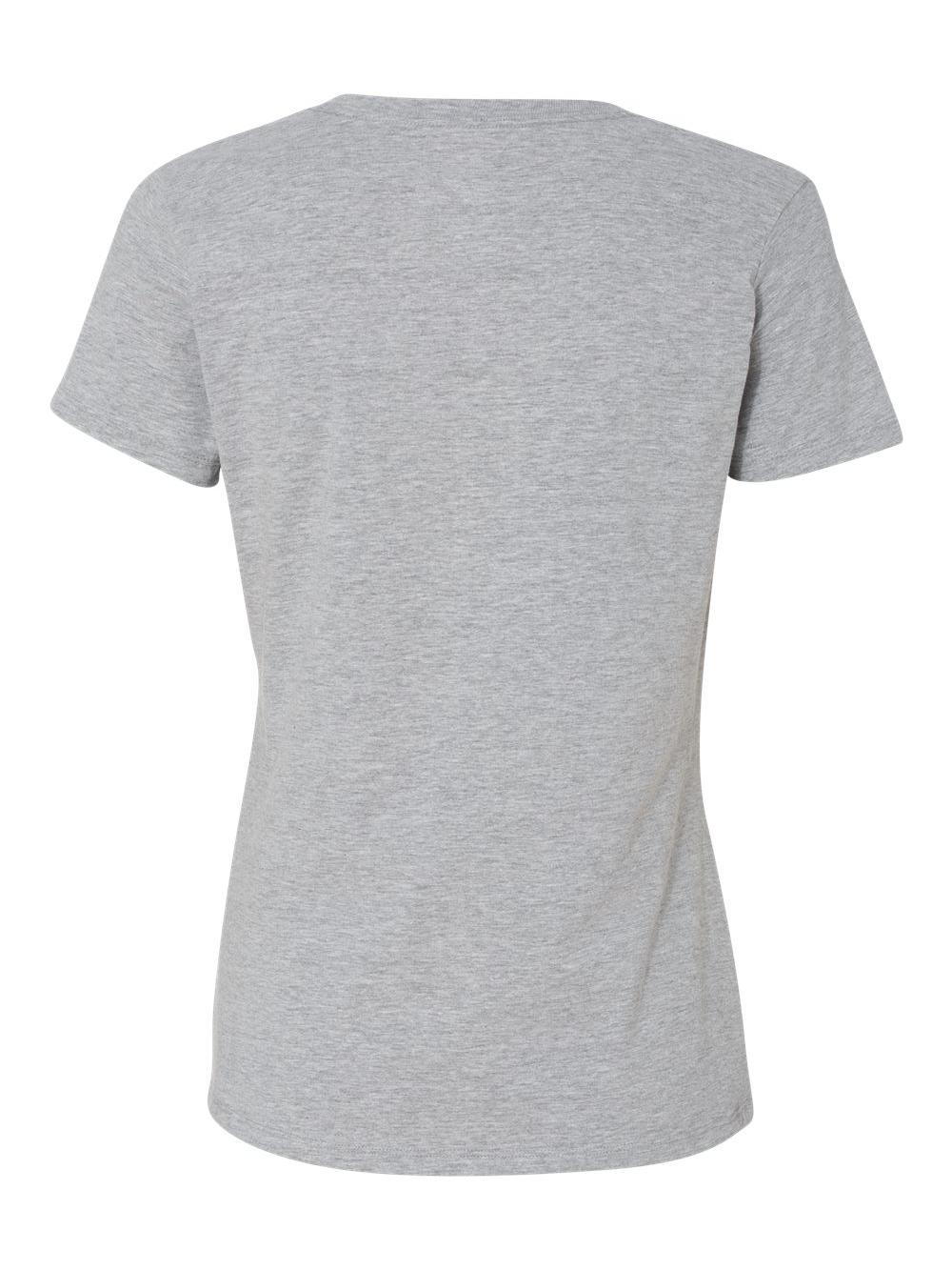 Hanes-X-Temp-Women-039-s-V-Neck-T-Shirt-42V0 thumbnail 7