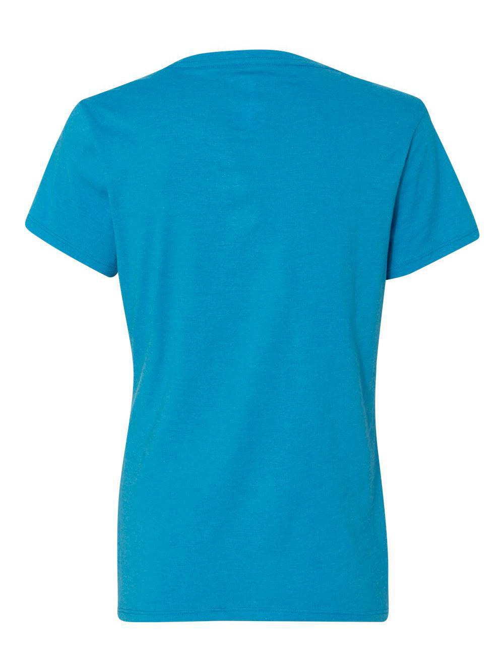 Hanes-X-Temp-Women-039-s-V-Neck-T-Shirt-42V0 thumbnail 10