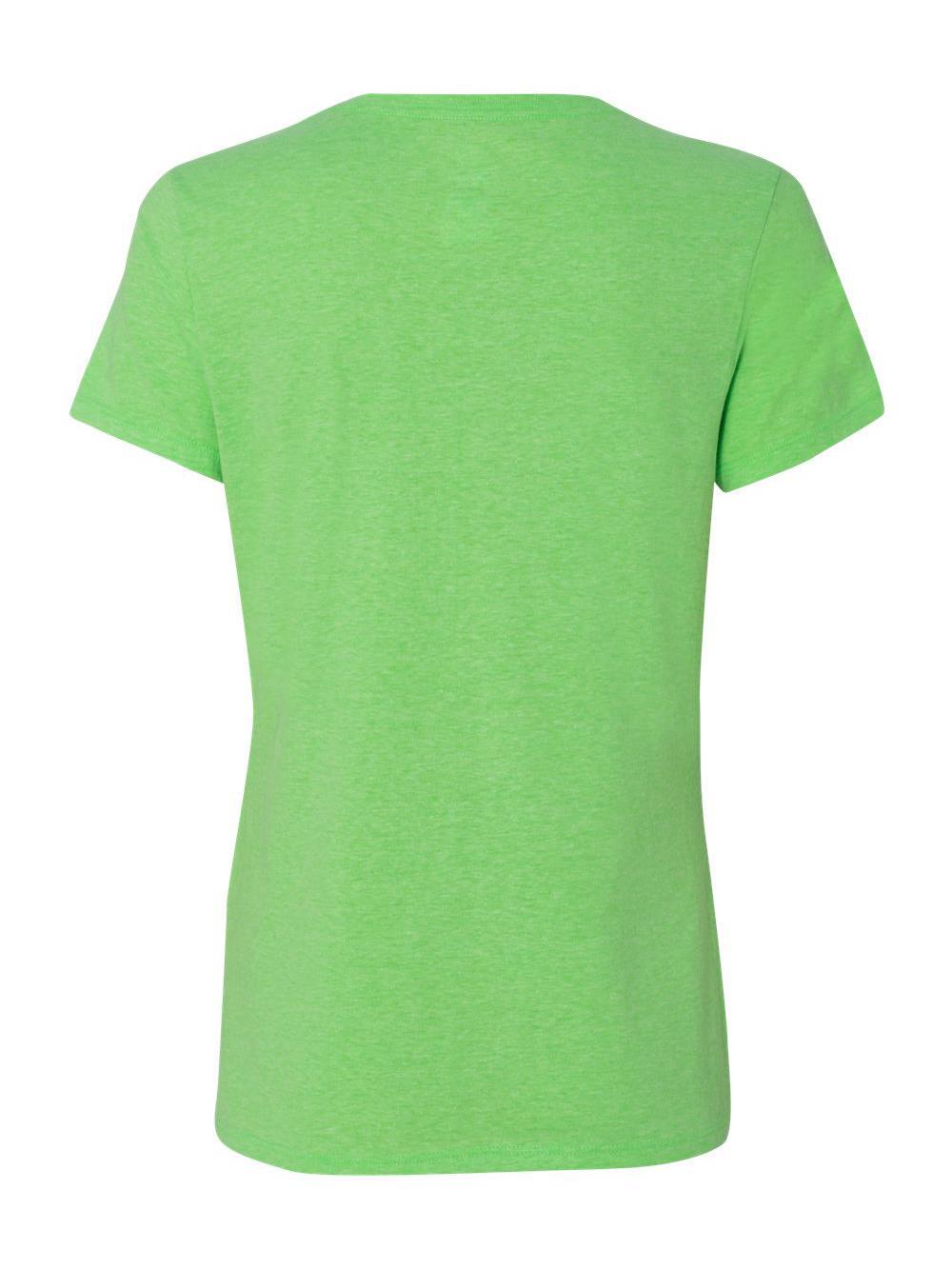 Hanes-X-Temp-Women-039-s-V-Neck-T-Shirt-42V0 thumbnail 13