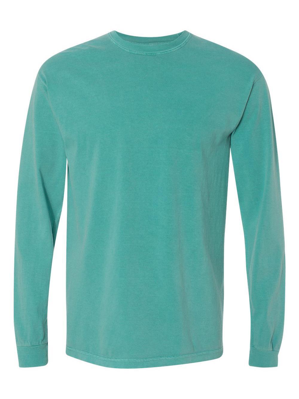 Comfort-Colors-Garment-Dyed-Heavyweight-Ringspun-Long-Sleeve-T-Shirt-6014 thumbnail 60