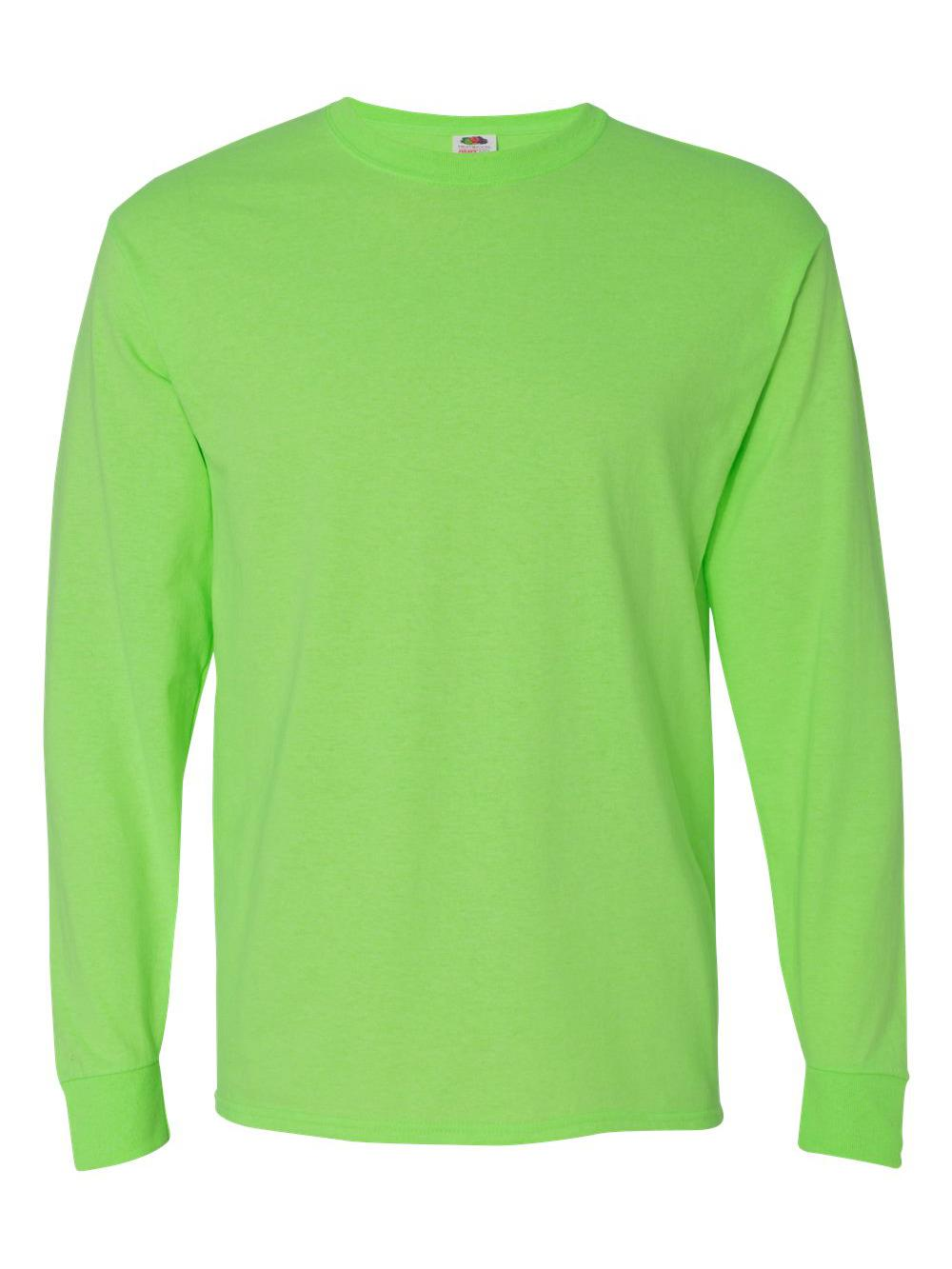 Fruit-of-the-Loom-HD-Cotton-Long-Sleeve-T-Shirt-4930R thumbnail 48