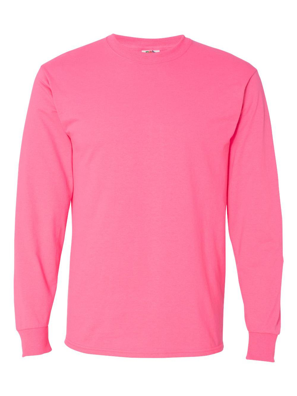 Fruit-of-the-Loom-HD-Cotton-Long-Sleeve-T-Shirt-4930R thumbnail 51