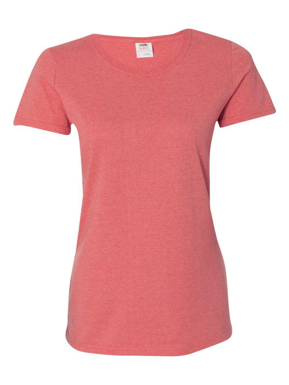 Fruit-of-the-Loom-HD-Cotton-Women-039-s-Short-Sleeve-T-Shirt-L3930R thumbnail 24