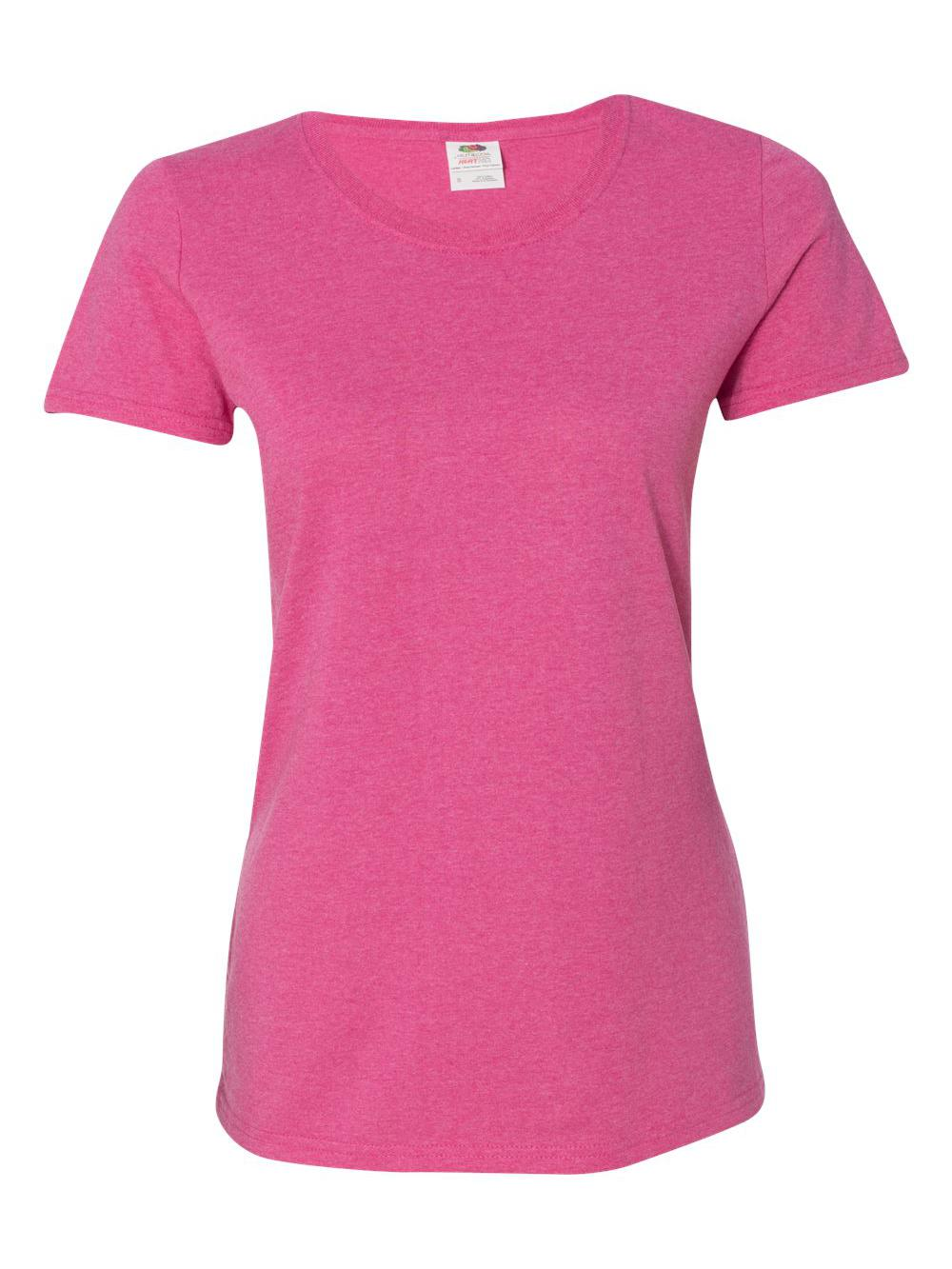 Fruit-of-the-Loom-HD-Cotton-Women-039-s-Short-Sleeve-T-Shirt-L3930R thumbnail 27