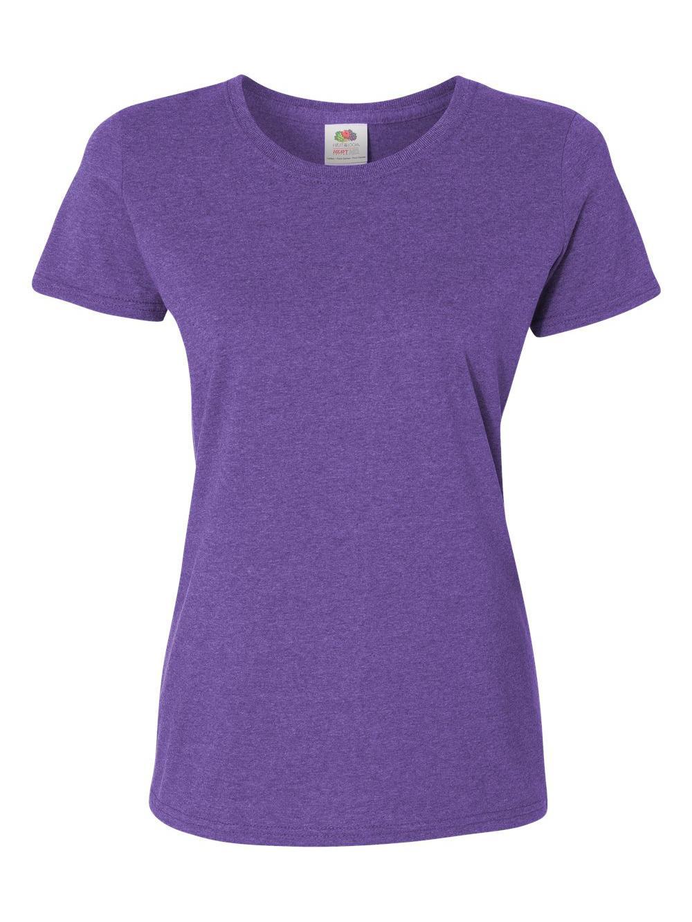 Fruit-of-the-Loom-HD-Cotton-Women-039-s-Short-Sleeve-T-Shirt-L3930R thumbnail 30