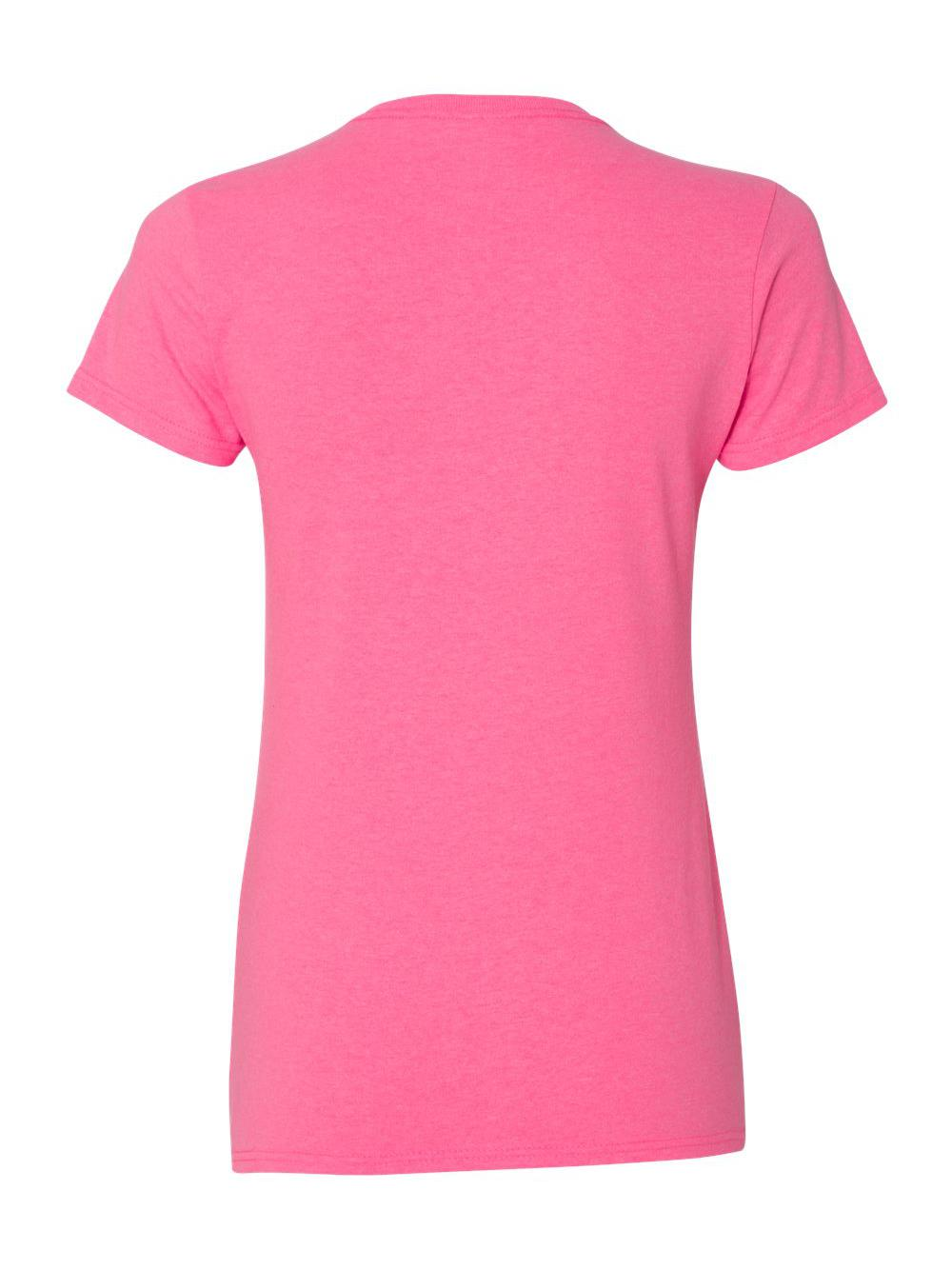 Gildan-Heavy-Cotton-Women-039-s-Short-Sleeve-T-Shirt-5000L thumbnail 100