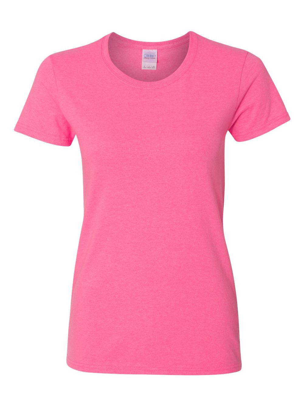 Gildan-Heavy-Cotton-Women-039-s-Short-Sleeve-T-Shirt-5000L thumbnail 105