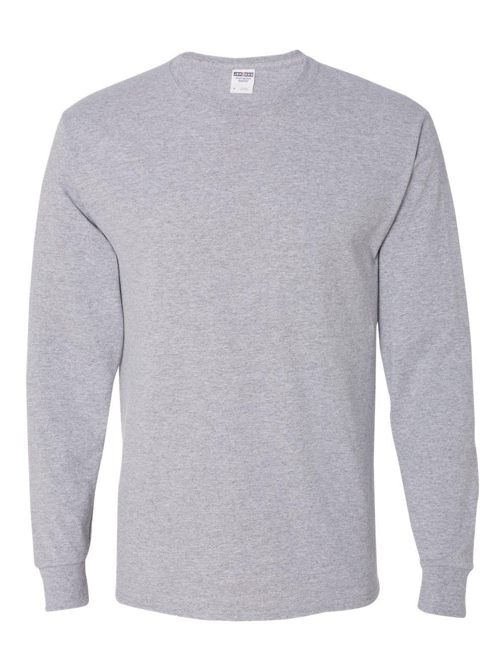 Jerzees-Dri-Power-Long-Sleeve-50-50-T-Shirt-29LSR thumbnail 6