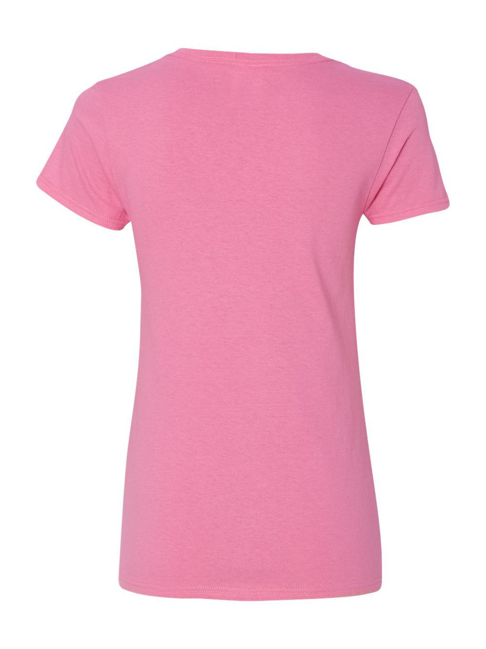 Gildan-Heavy-Cotton-Women-039-s-V-Neck-T-Shirt-5V00L thumbnail 4