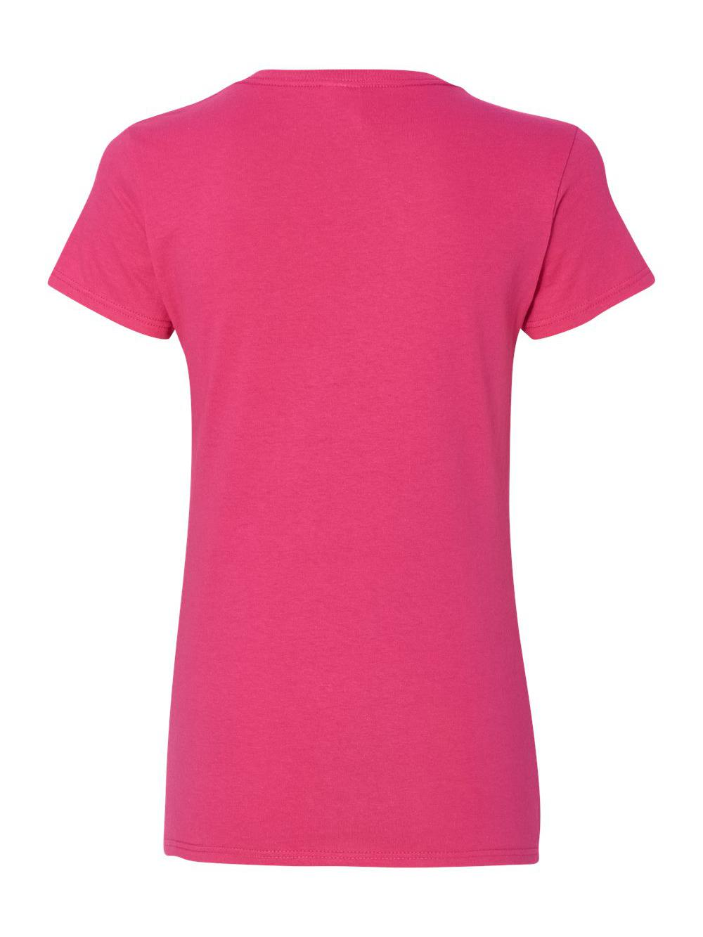 Gildan-Heavy-Cotton-Women-039-s-V-Neck-T-Shirt-5V00L thumbnail 25