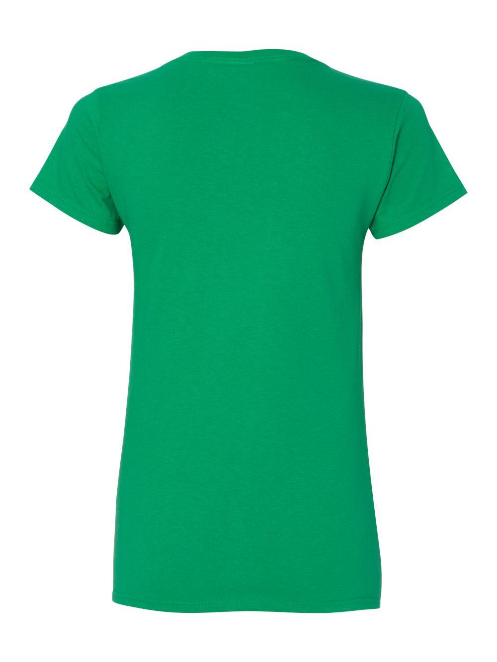 Gildan-Heavy-Cotton-Women-039-s-V-Neck-T-Shirt-5V00L thumbnail 28