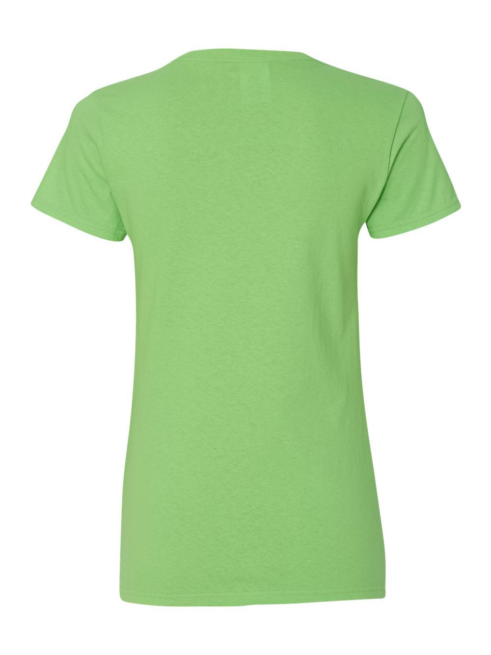Gildan-Heavy-Cotton-Women-039-s-V-Neck-T-Shirt-5V00L thumbnail 31