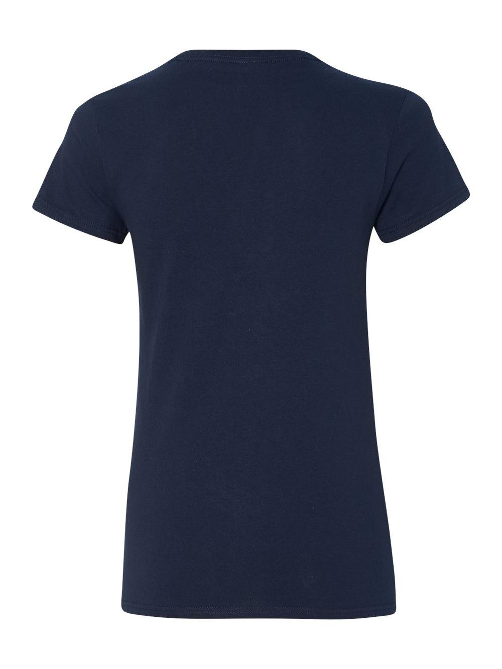 Gildan-Heavy-Cotton-Women-039-s-V-Neck-T-Shirt-5V00L thumbnail 34