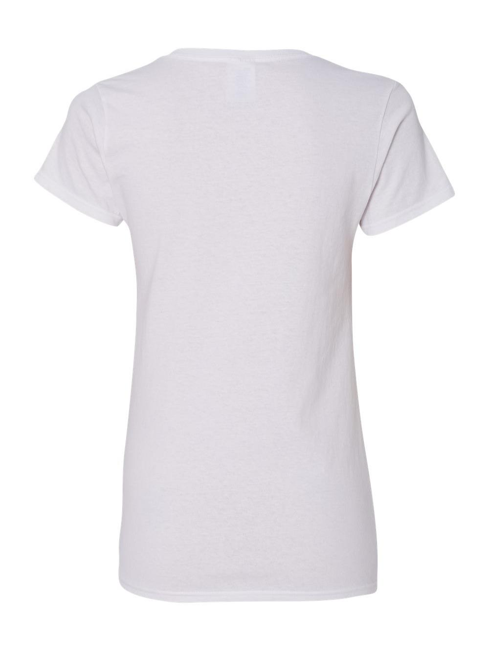 Gildan-Heavy-Cotton-Women-039-s-V-Neck-T-Shirt-5V00L thumbnail 52