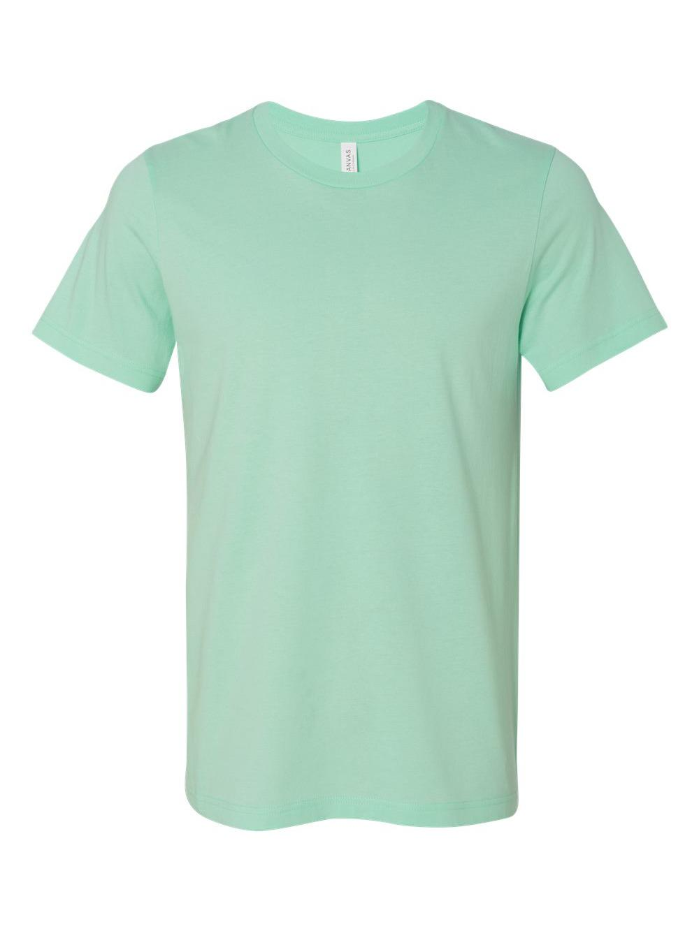 Bella-Canvas-Unisex-Short-Sleeve-Jersey-Tee-3001 thumbnail 81
