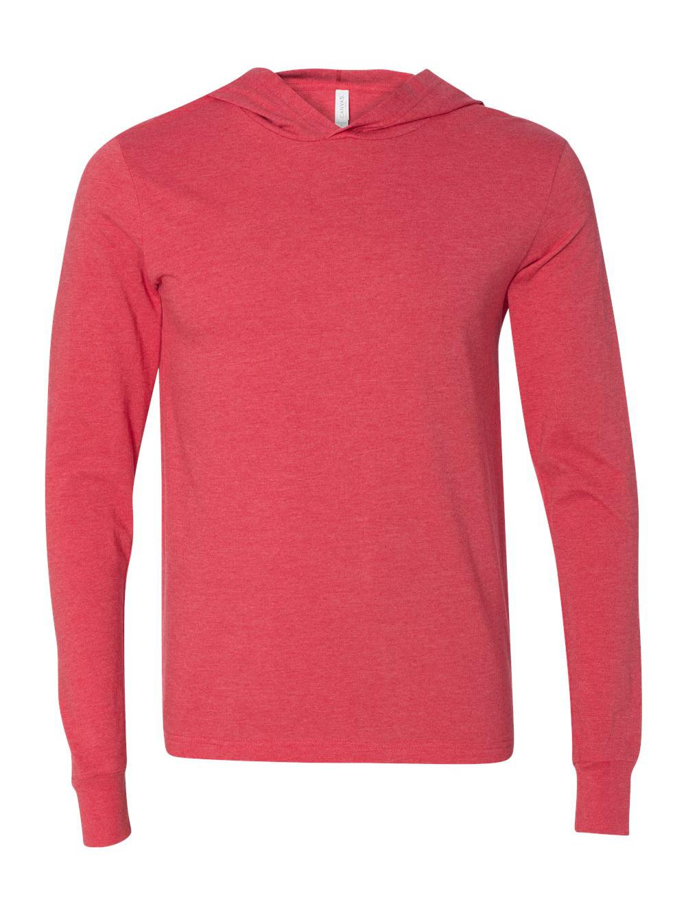 Bella-Canvas-Unisex-Long-Sleeve-Jersey-Hooded-Tee-3512 thumbnail 24