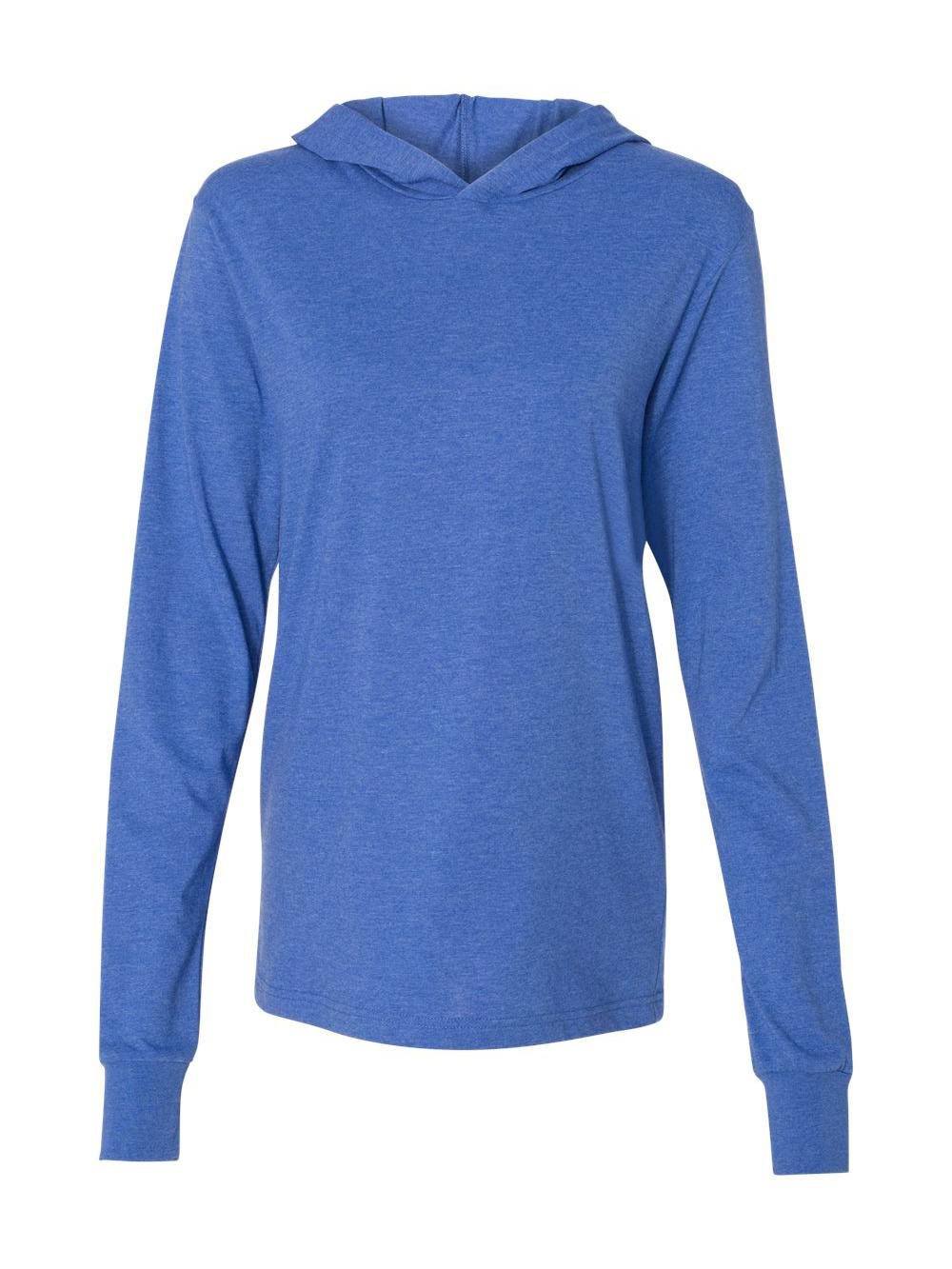 Bella-Canvas-Unisex-Long-Sleeve-Jersey-Hooded-Tee-3512 thumbnail 27