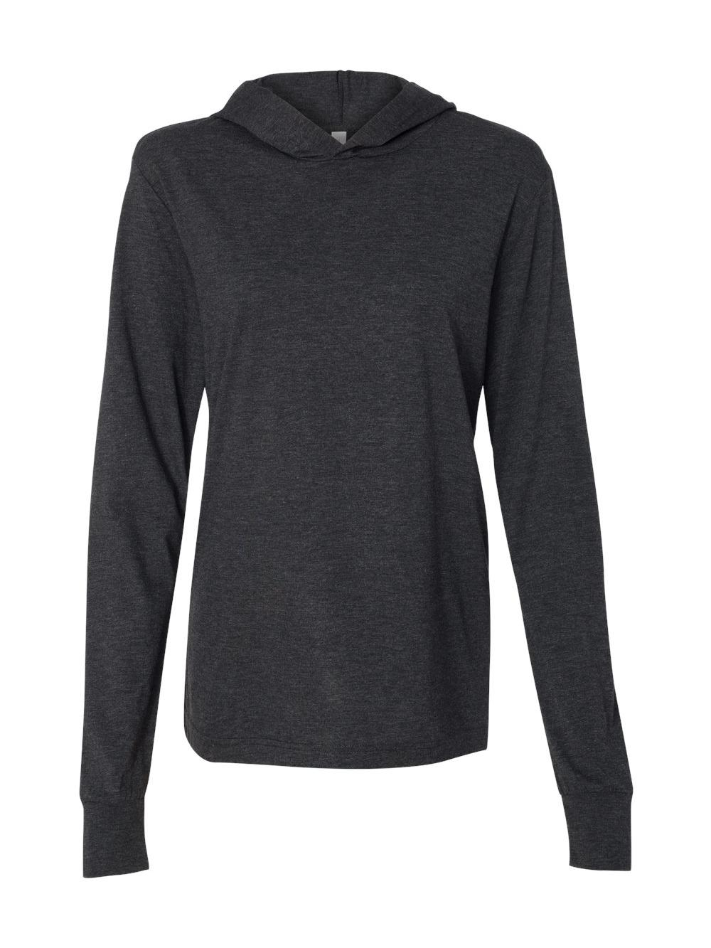 Bella-Canvas-Unisex-Long-Sleeve-Jersey-Hooded-Tee-3512 thumbnail 9