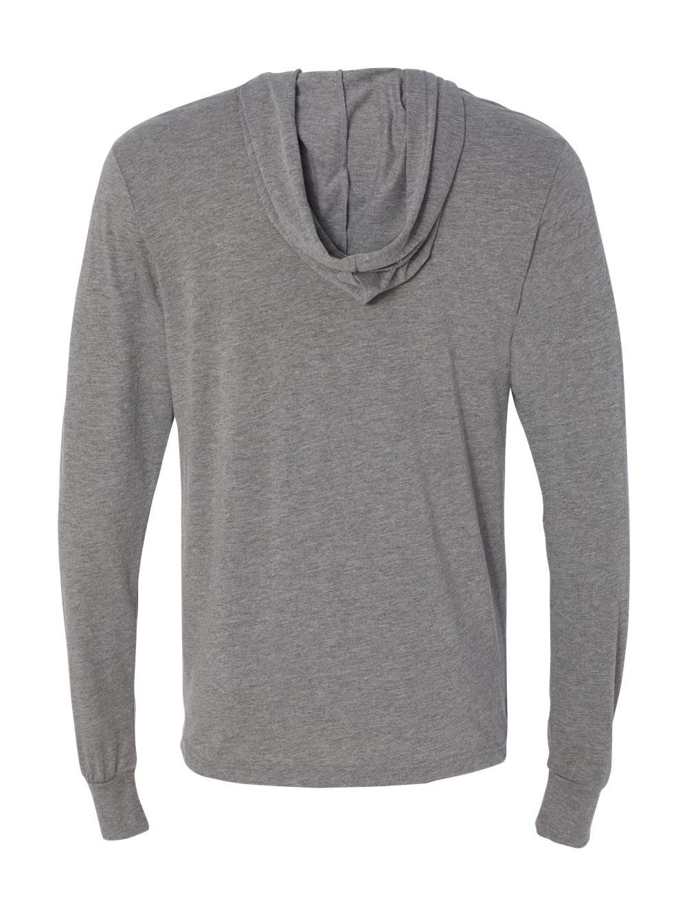 Bella-Canvas-Unisex-Long-Sleeve-Jersey-Hooded-Tee-3512 thumbnail 19