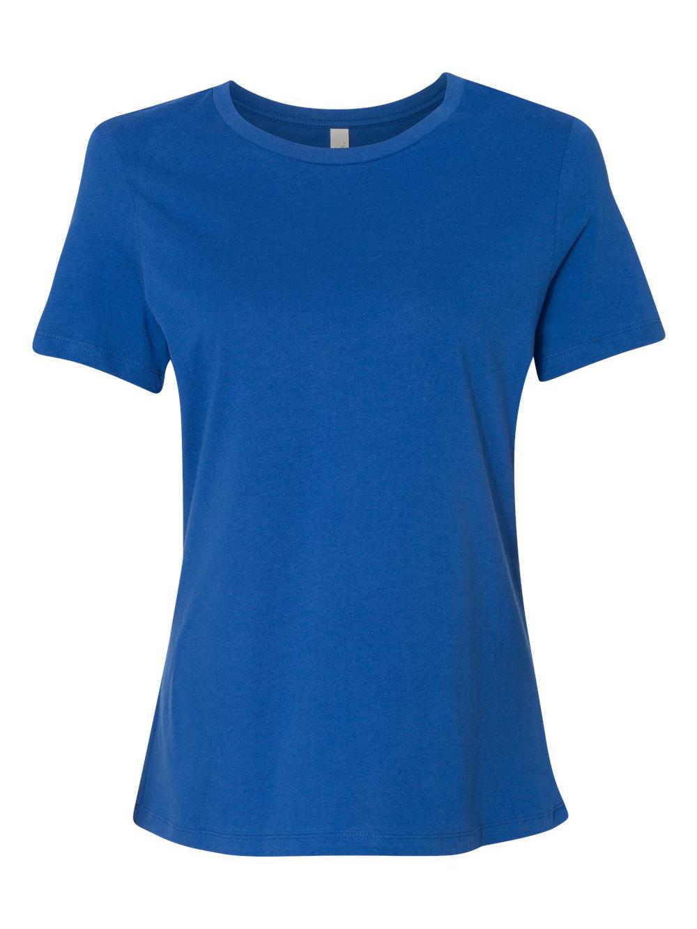 Bella-Canvas-Women-039-s-Relaxed-Short-Sleeve-Jersey-Tee-6400 thumbnail 87