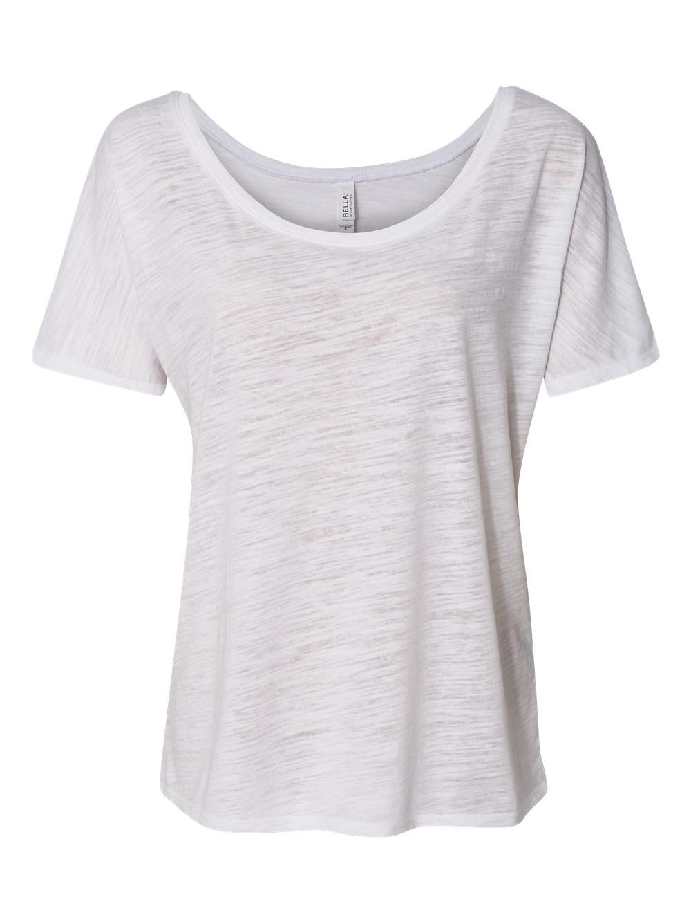 Bella-Canvas-Women-039-s-Slouchy-Tee-8816 thumbnail 63