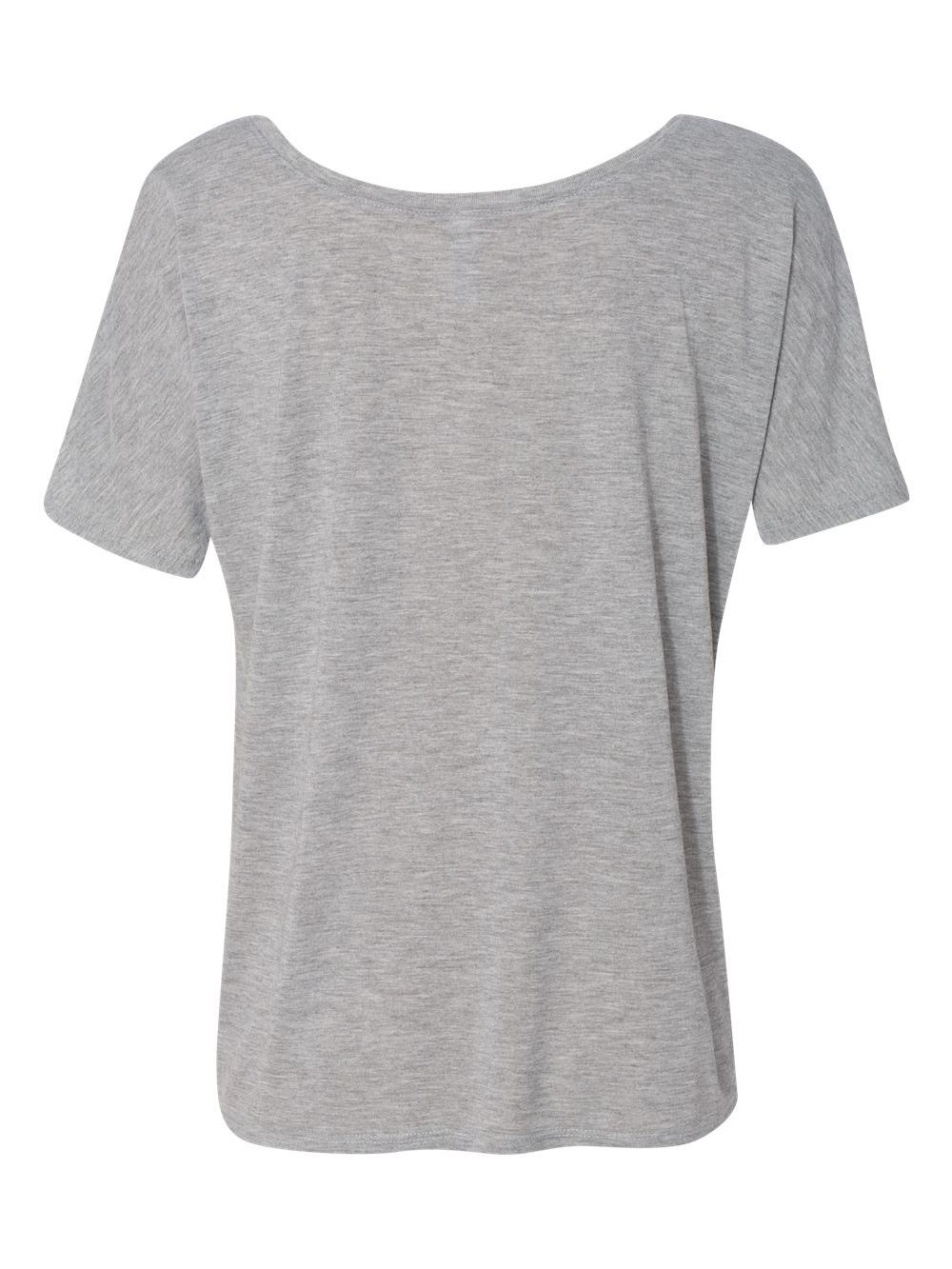 Bella-Canvas-Women-039-s-Slouchy-Tee-8816 thumbnail 4