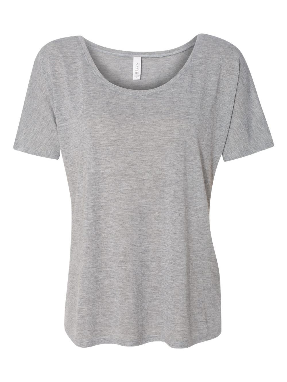 Bella-Canvas-Women-039-s-Slouchy-Tee-8816 thumbnail 3