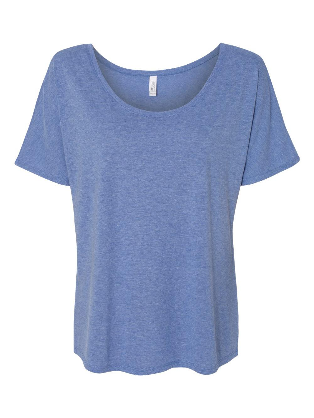Bella-Canvas-Women-039-s-Slouchy-Tee-8816 thumbnail 15