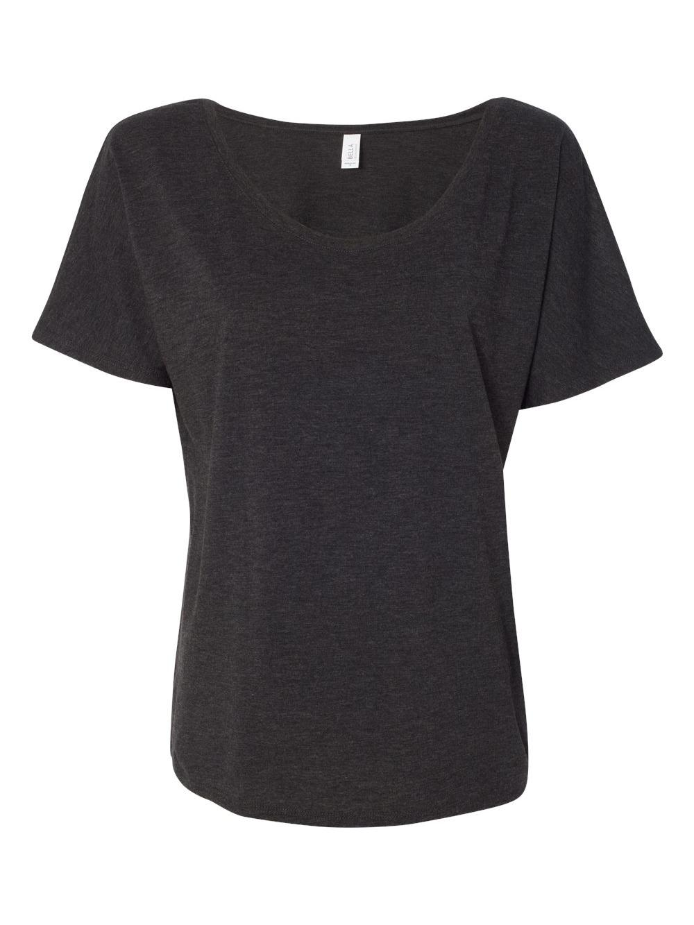 Bella-Canvas-Women-039-s-Slouchy-Tee-8816 thumbnail 21