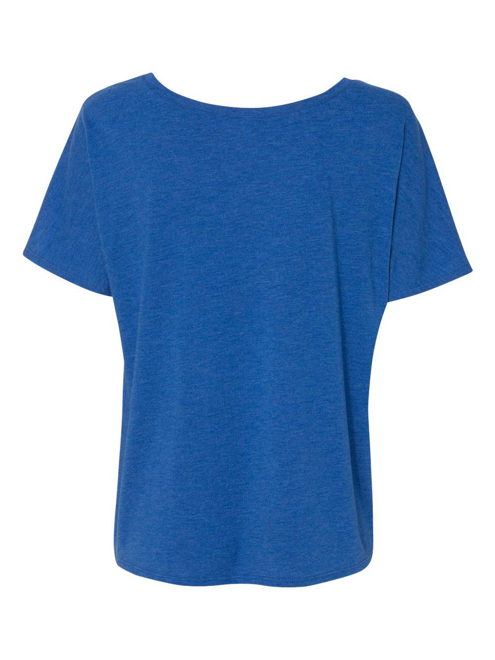 Bella-Canvas-Women-039-s-Slouchy-Tee-8816 thumbnail 52