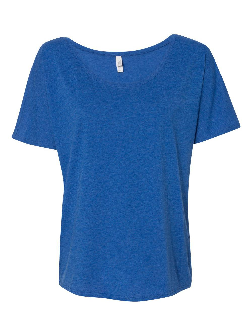 Bella-Canvas-Women-039-s-Slouchy-Tee-8816 thumbnail 51