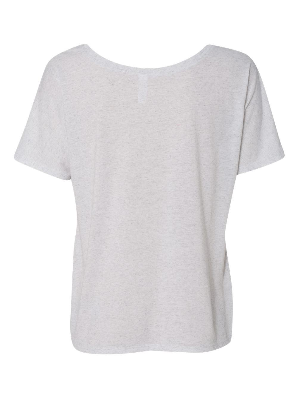 Bella-Canvas-Women-039-s-Slouchy-Tee-8816 thumbnail 58