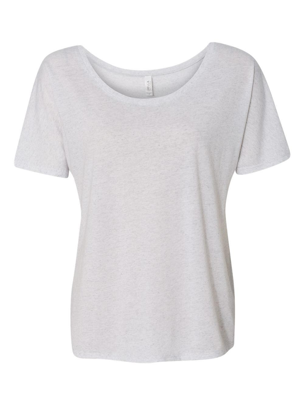 Bella-Canvas-Women-039-s-Slouchy-Tee-8816 thumbnail 57