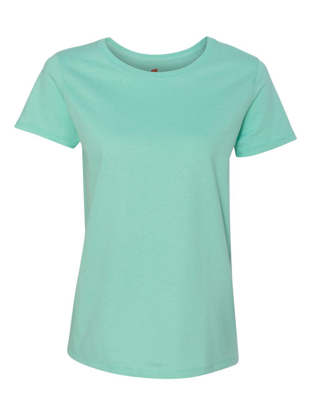 51a91bc1 Hanes Women's Relaxed Fit Jersey ComfortSoft Crewneck T-shirt 5680 3x Clean  MINT. About this product. Stock photo; Picture 1 of 4; Picture 2 of 4 ...