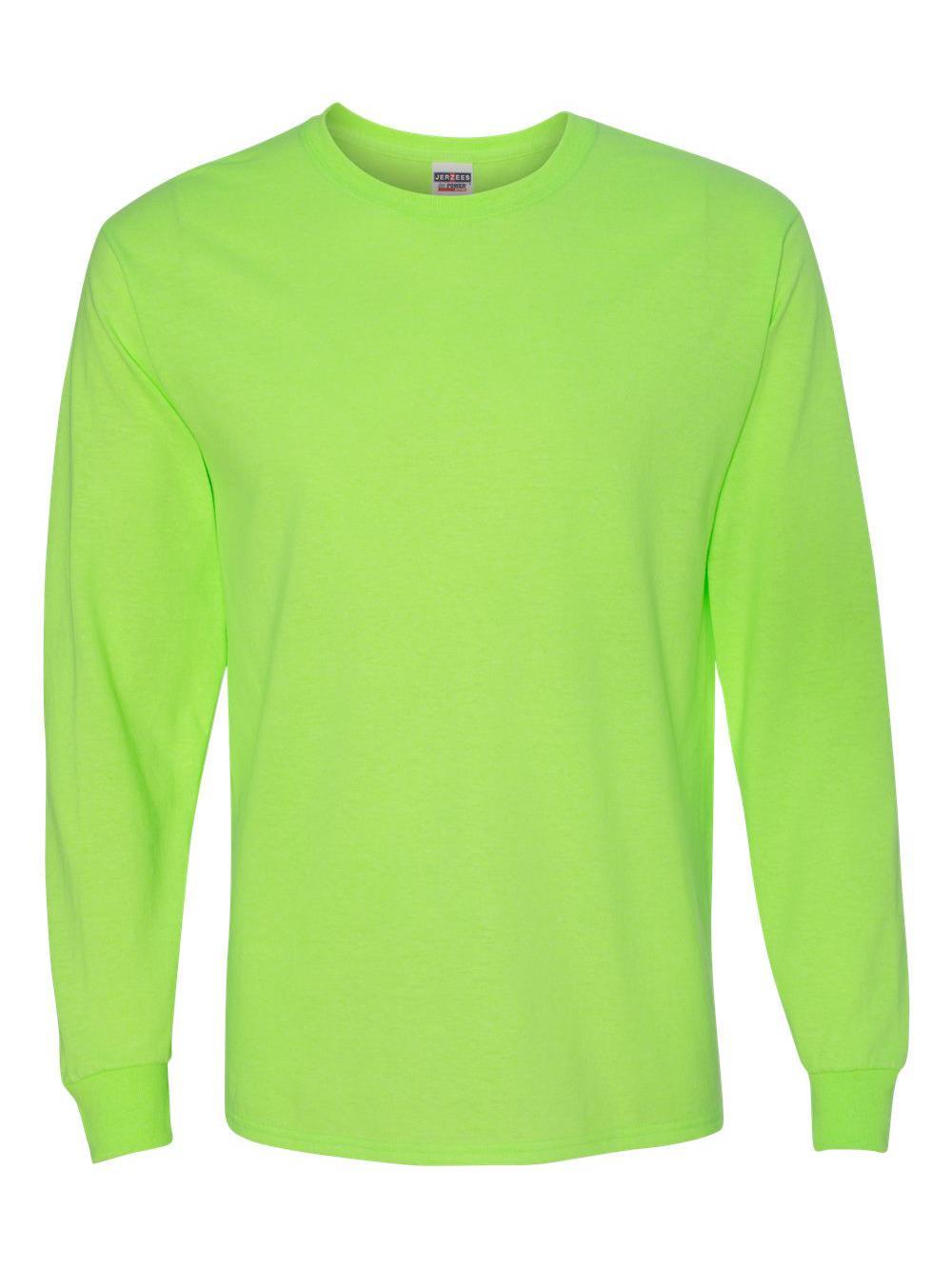 Jerzees-Dri-Power-Long-Sleeve-50-50-T-Shirt-29LSR thumbnail 60