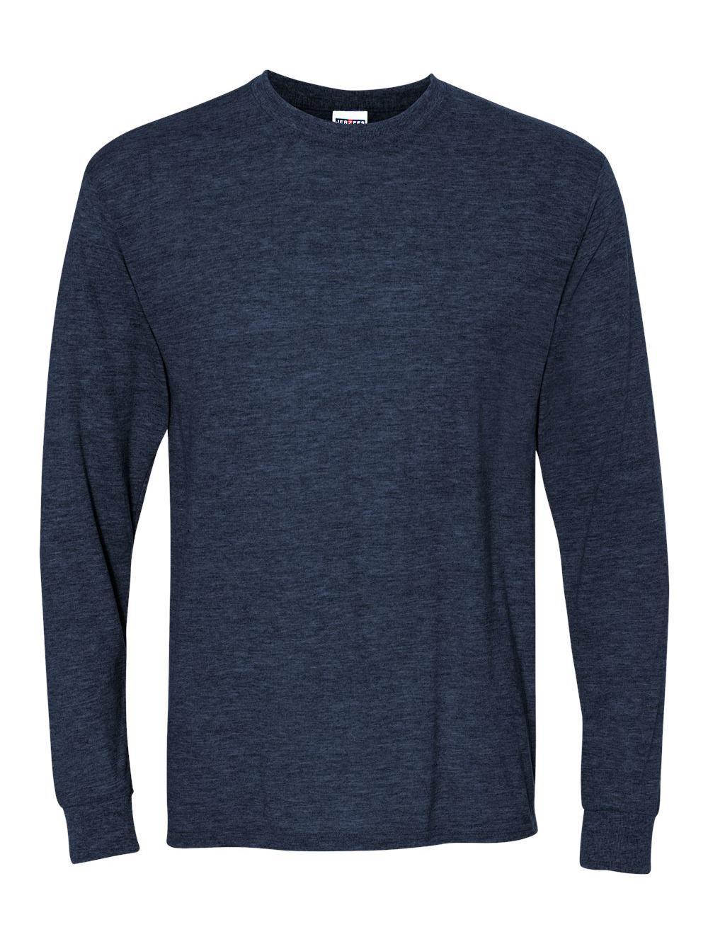 Jerzees-Dri-Power-Long-Sleeve-50-50-T-Shirt-29LSR thumbnail 84