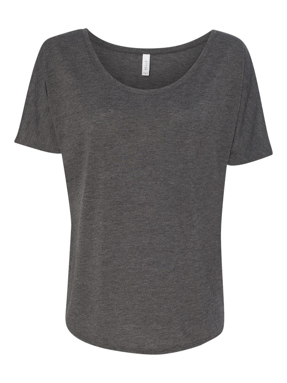 Bella-Canvas-Women-039-s-Slouchy-Tee-8816 thumbnail 24