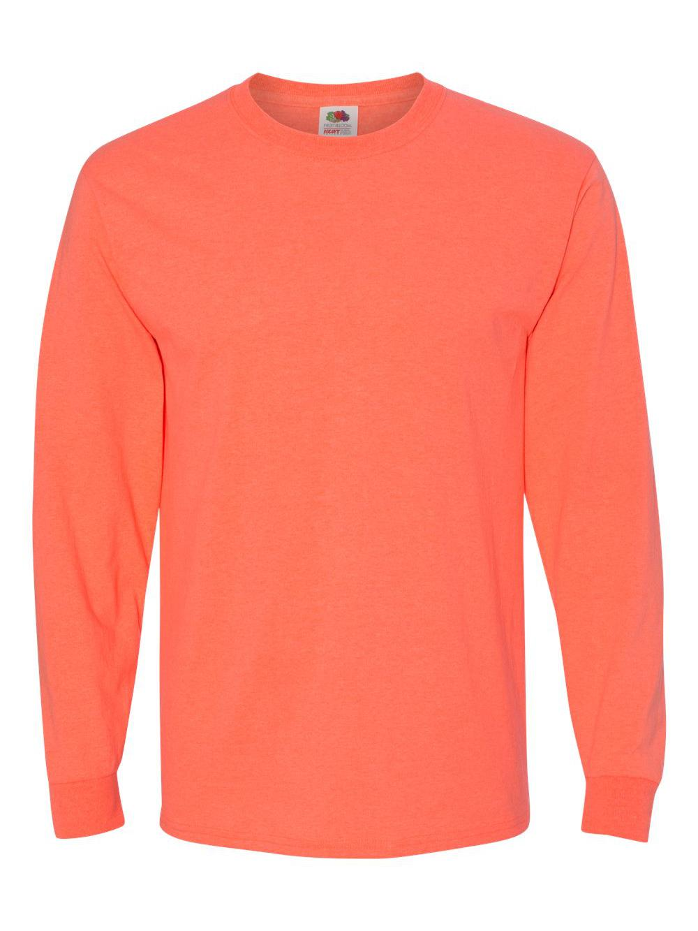 Fruit-of-the-Loom-HD-Cotton-Long-Sleeve-T-Shirt-4930R thumbnail 60